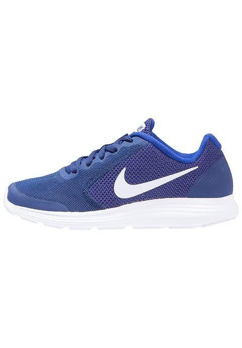36f02901d2c13 Tenis Nike Revolution 3 Azul Marino bco Niño 100% Original ...
