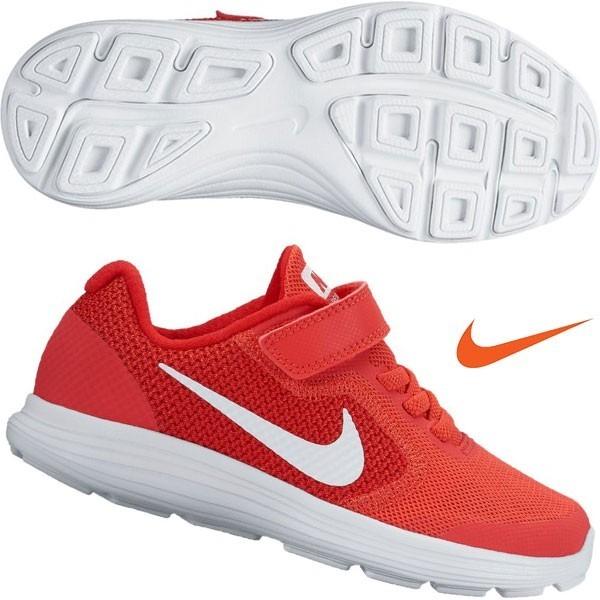 best loved 17525 6c5ee tenis nike revolution 3 niño rojo 100% original 819414-601