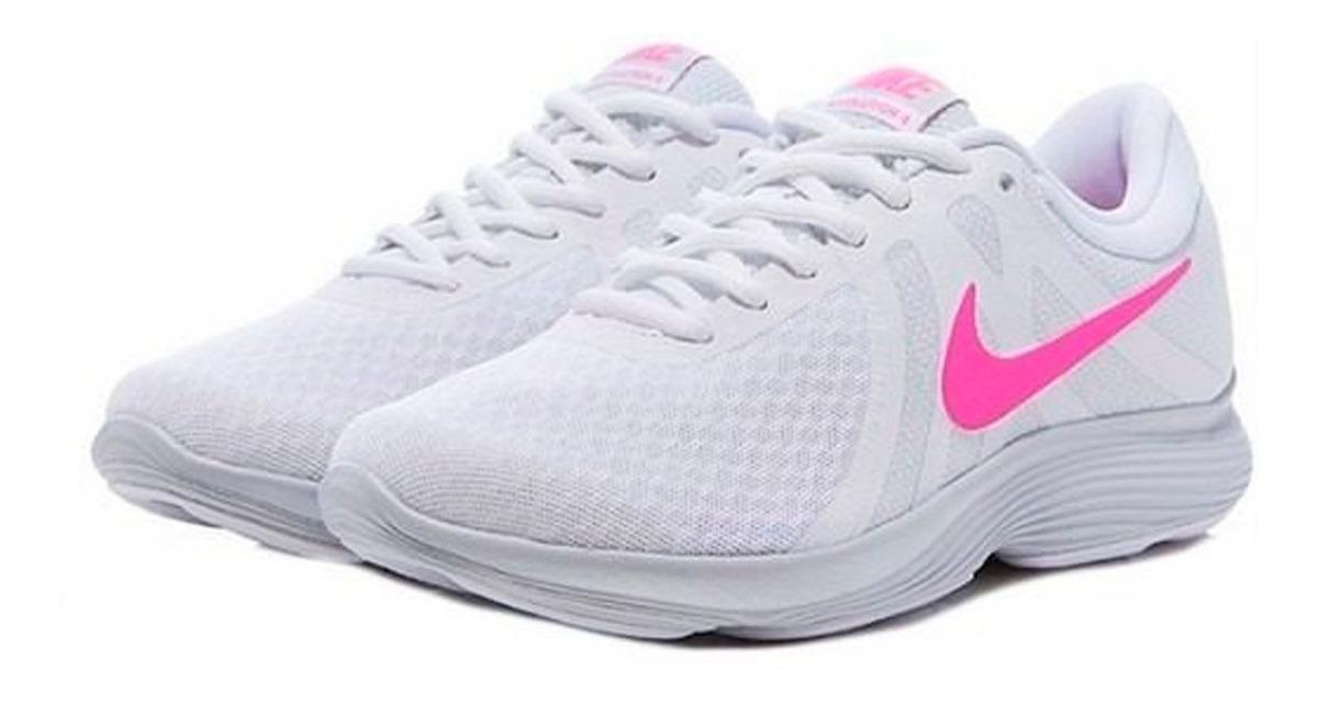 Zapatillas NIKE REVOLUTION 4 ROSA BLANCO Tiempo Libre Y Sportwear
