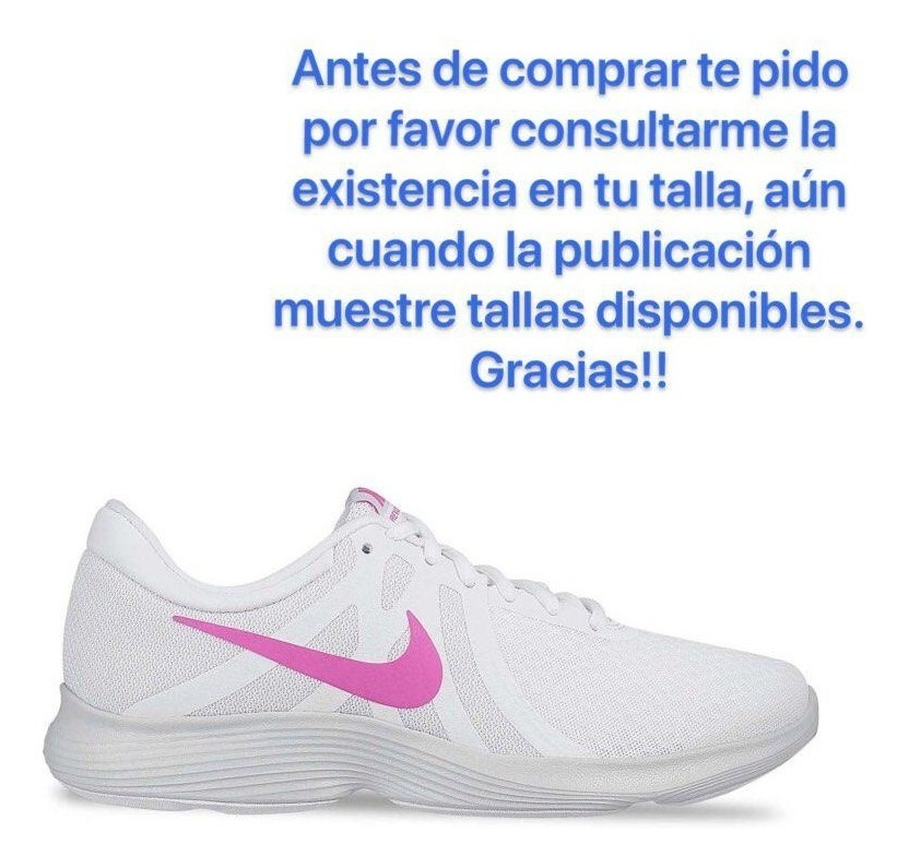 Tenis Nike Revolution 4. Dama Mod. 268 7063