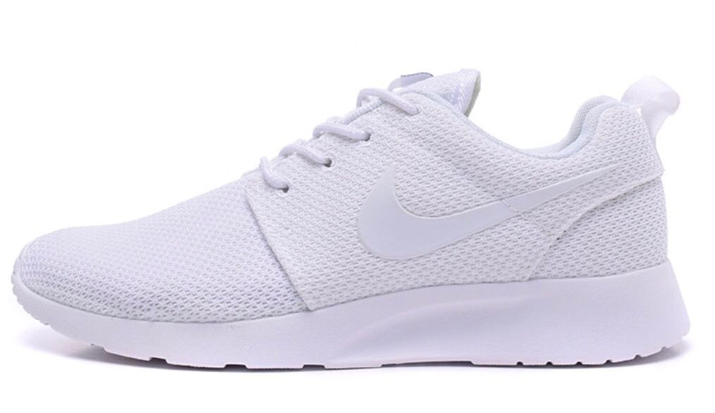 f4a1633085f Tenis Nike Roshe One Blanco Envío Gratis - $ 1,099.00 en Mercado Libre
