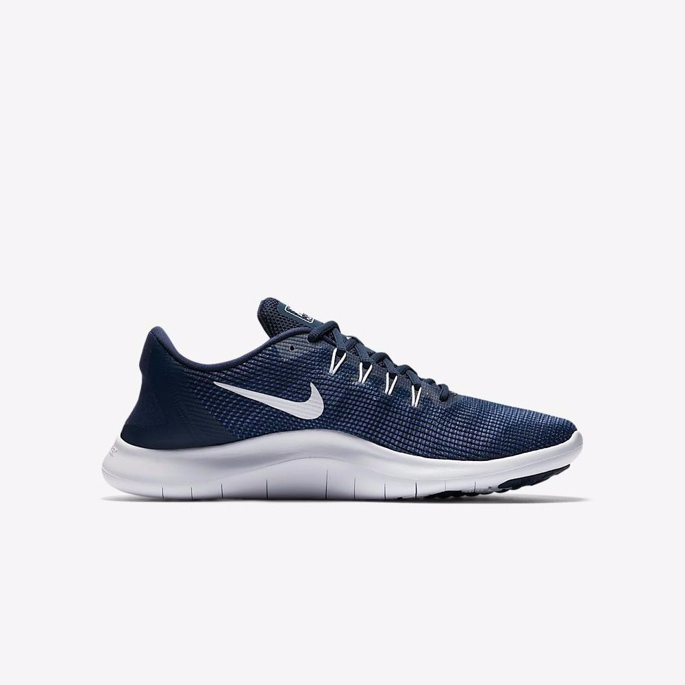 wholesale dealer b092b 6b704 Tenis Nike Running Flex 2018 Rn De Hombre. Color Azul. -  1,