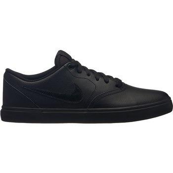 2cae9cf25caf5 Tenis Nike Sb Check Solar Negro Monocromo Piel 26-29 -   1