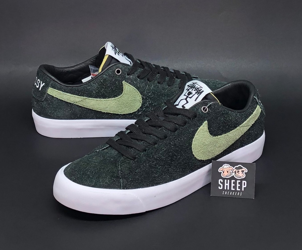 wholesale dealer 694b3 3f941 Tenis Nike Sb Zoom Blazer Low Stussy