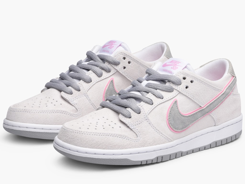 new product 4b70f 9538a Tenis Nike Sb Zoom Dunk Low Pro Ishod War Perfect Pink Flat.