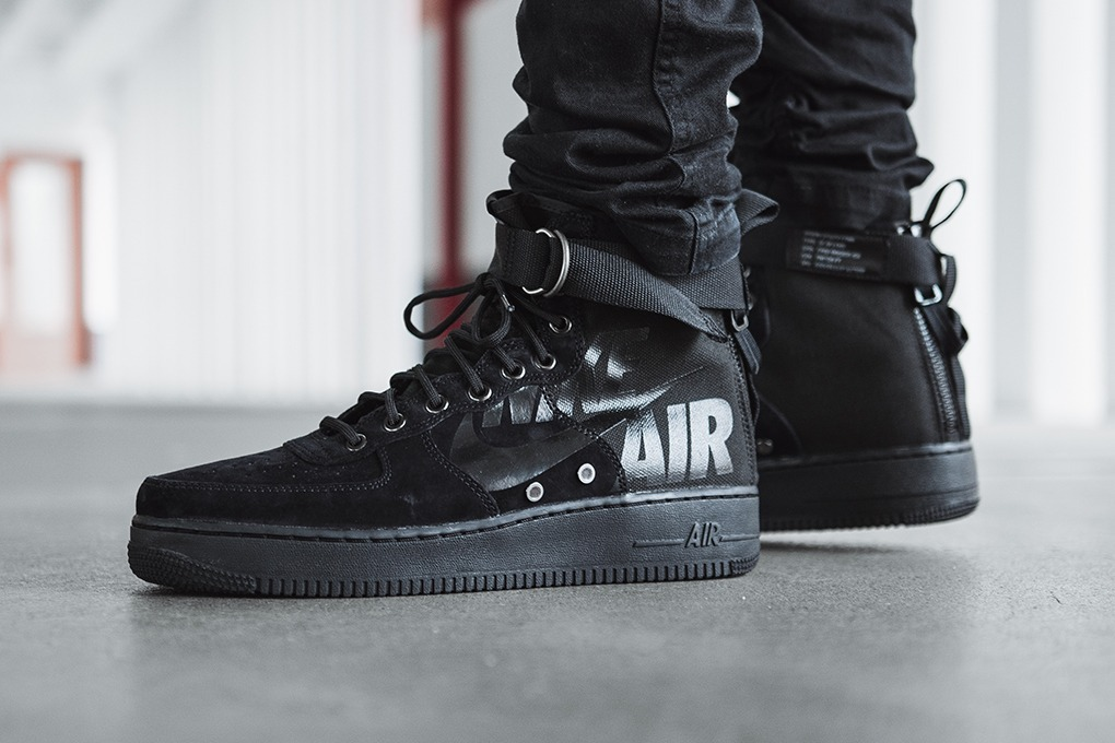 Tenis Nike Sf Af1 Mujer Special Field Air Force 1 Bota