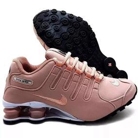 27c7a3cb0c1be Nike Shox Rosa Claro - Tênis com o Melhores Preços no Mercado Livre Brasil