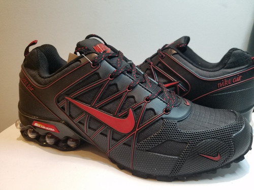 tenis nike shox air ultra 2018 black-red oferta buen fin !!!