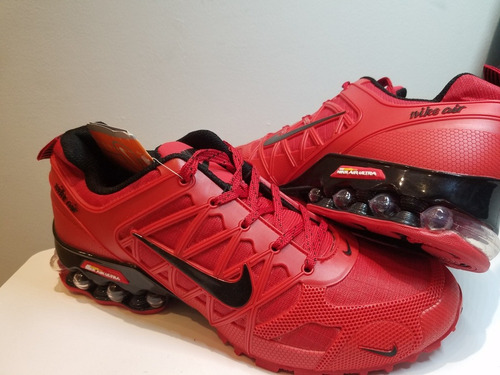 tenis nike shox air ultra 2018 red hot sale oferta especial