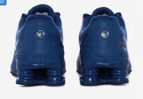 7f895bcd42f Tenis Nike Shox Avenue  8.5  9 Mx -   1