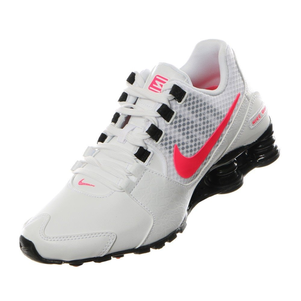 1586bbf96d23d Tenis Nike Shox Avenue Bco coral Mujer 844131-100 Original ...