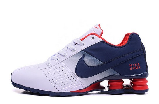 474f6a15b9 ... best price tenis nike shox blanco azul y rojo deliver usa a530f a83ad