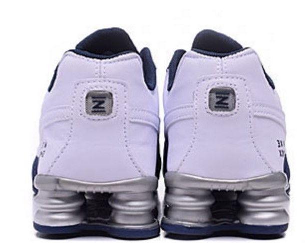 brand new f4564 d68ae ... spain tenis nike shox deliver azul blanco hombre oferta especial 0a0cc  50e70