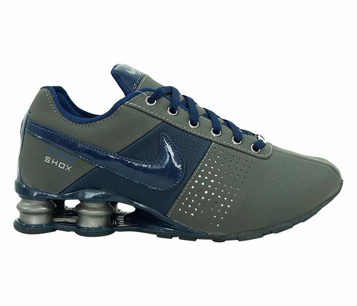 54c3393199f greece tenis nike shox deliver cinza e azul 7d751 05f10