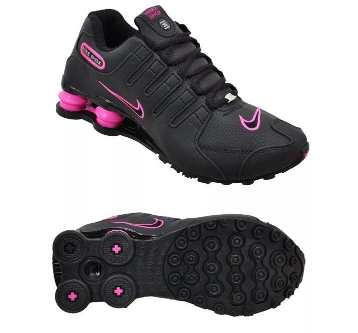 cf2485430934c Tenis Nike Shox Feminino - R$ 419,99 em Mercado Livre
