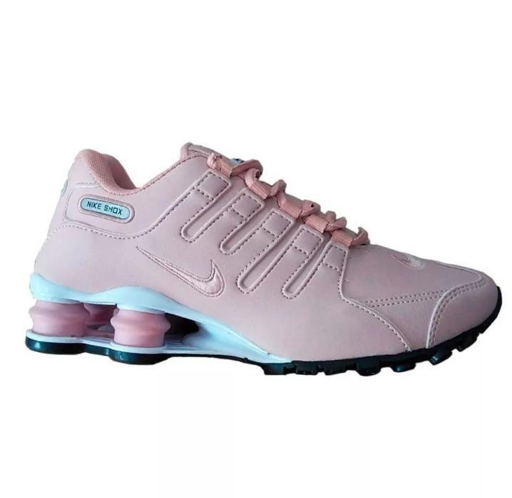 190bf289bf5 Tenis Nike Shox Feminino - R  419