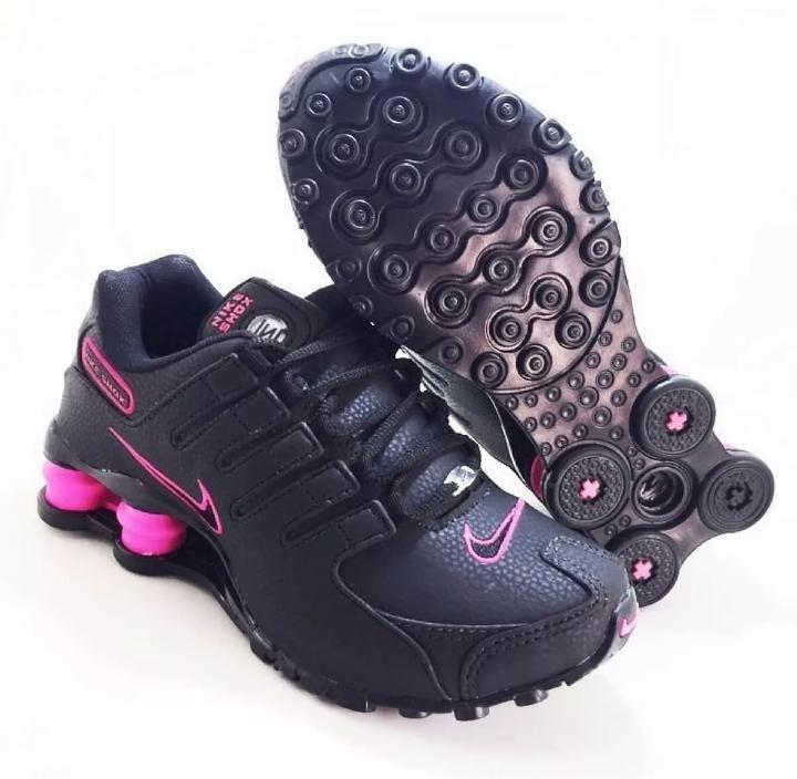 3c8339c53 8a4d3 8fca5  norway tenis nike shox feminino preto com rosa 65100 3fb41