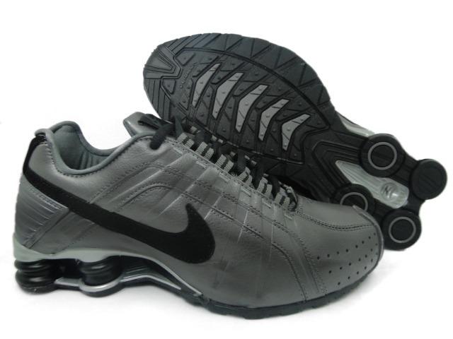 0e25616b0d3 Tenis Nike Shox Junior Cinza E Preto Nº37 Ao 44 Original! - R  550 ...