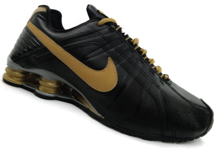 first rate 71771 eb663 tenis nike shox junior preto e dourado nº37 ao 44 original! Carregando zoom.