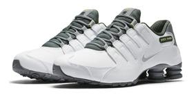 best service 0ae1b aee7d Tenis Nike Shox Nz 833579 101 Original C Nota Fiscal