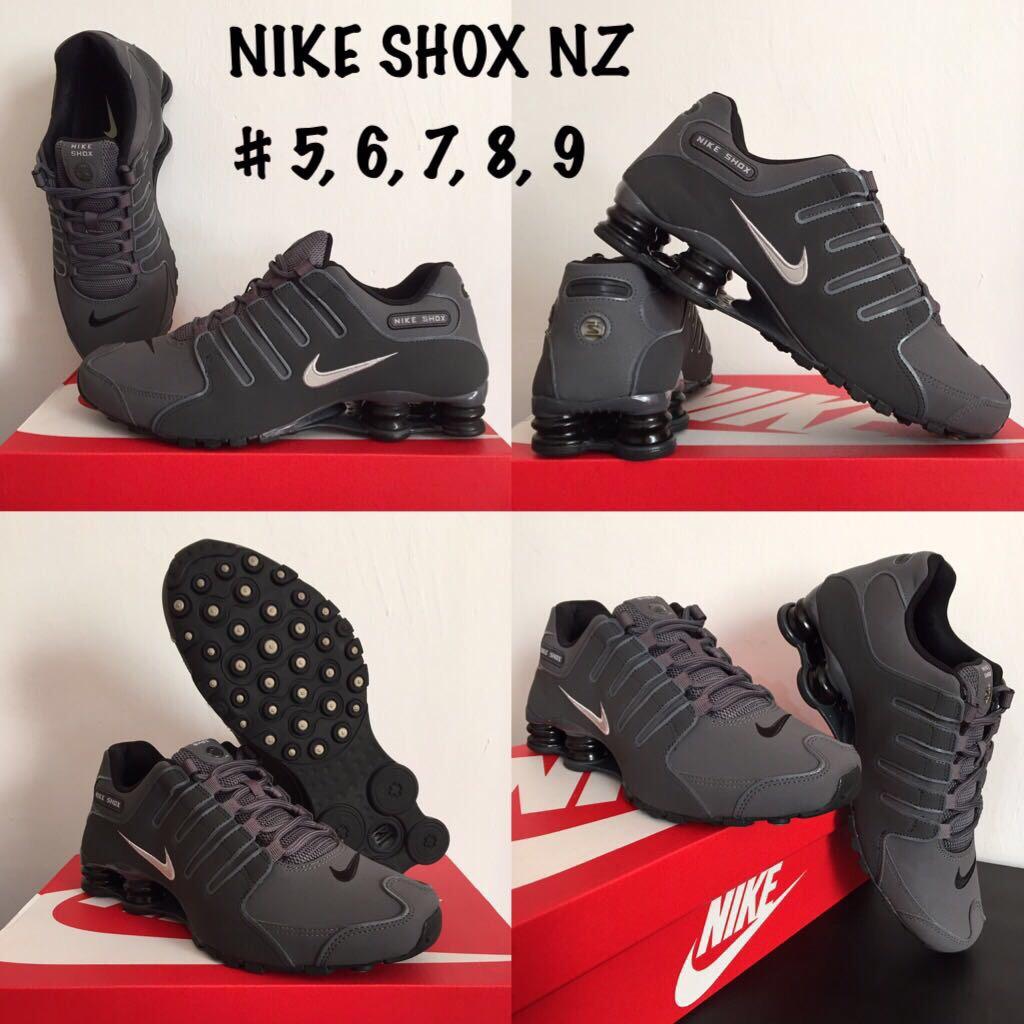 tenis nike shox nz gris  5 mx envió gratis dhl original. Cargando zoom. 2a9679d12