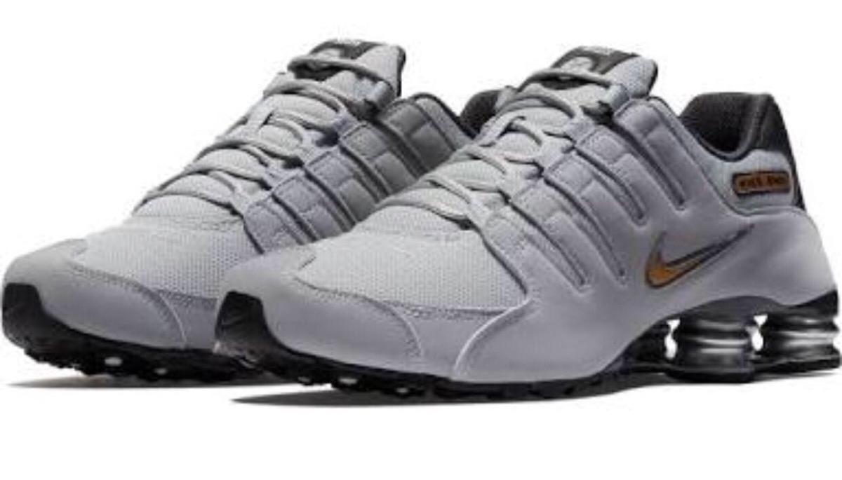 Tenis Nike Shox Nz. Gris Wolf.  8.5 Mx Envio Gratis Original ... 44325ca94
