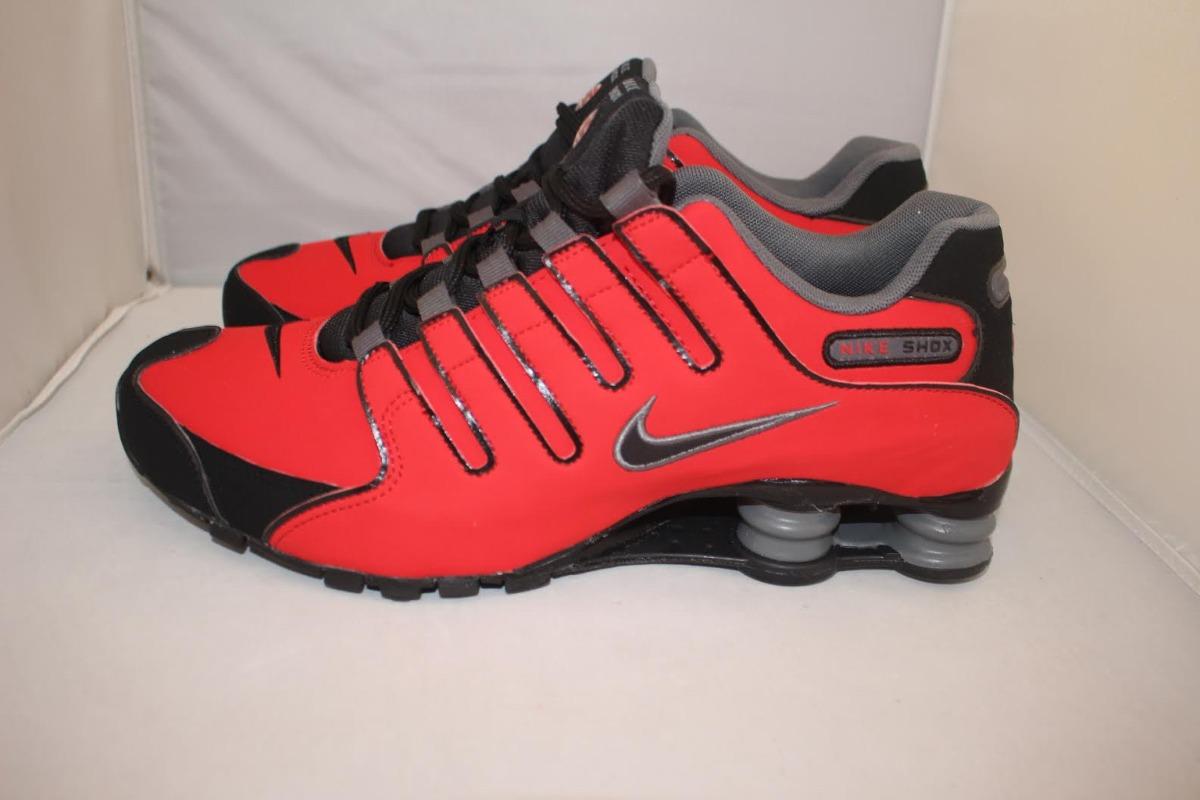 ... hot free shipping tênis nike shox tenis nike shox nz masculino vermelho  preto original 943f0 94b72 7ff638b7c