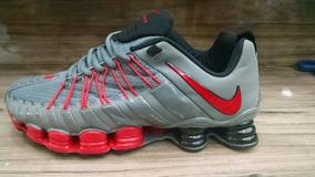 3f70c495c74 Tenis Nike Shox Premium Cinza E Vermelho Nº37 Ao 43 Original. R  550