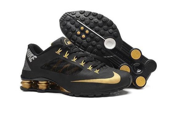 4c1461a6ee ... inexpensive tenis nike shox r4 superfly black gold original oferta  9bf67 2dfda