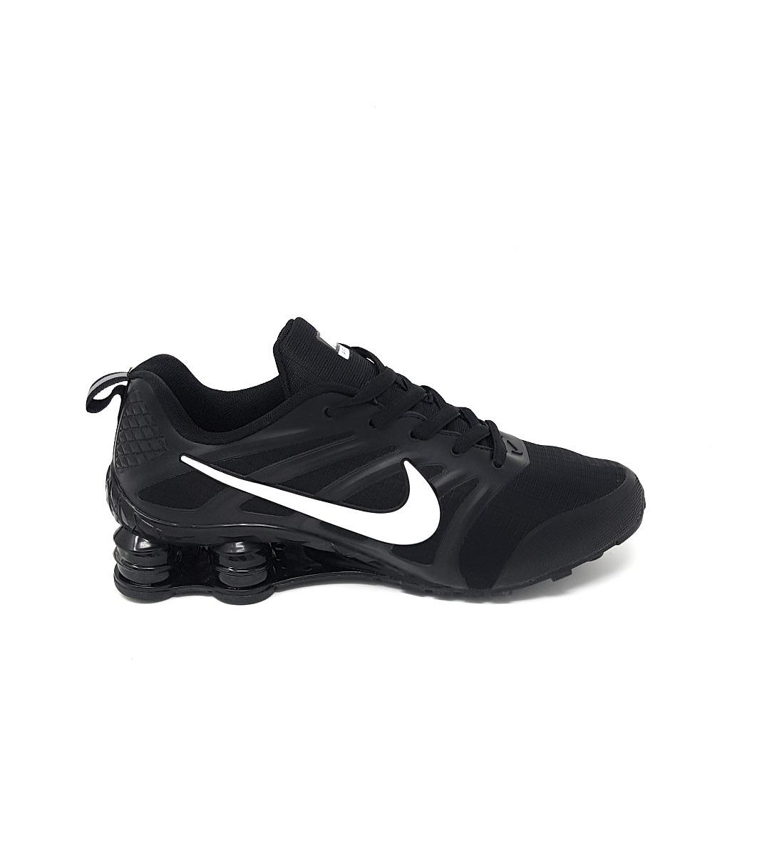 sweden hombres nike shox avenue zapatos blanco azul negro