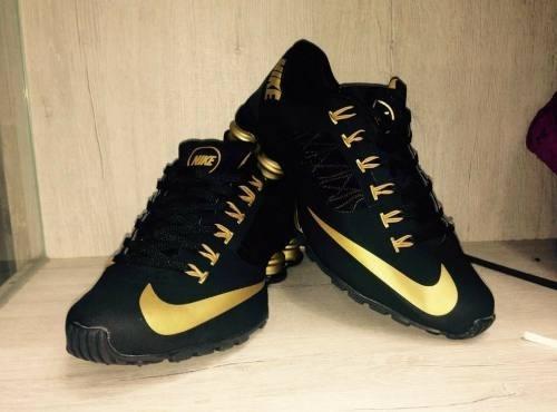 4360d879dc4 Tenis Nike Shox Superfly Preto E Dourado Nº37 A 43 Original - R  550 ...