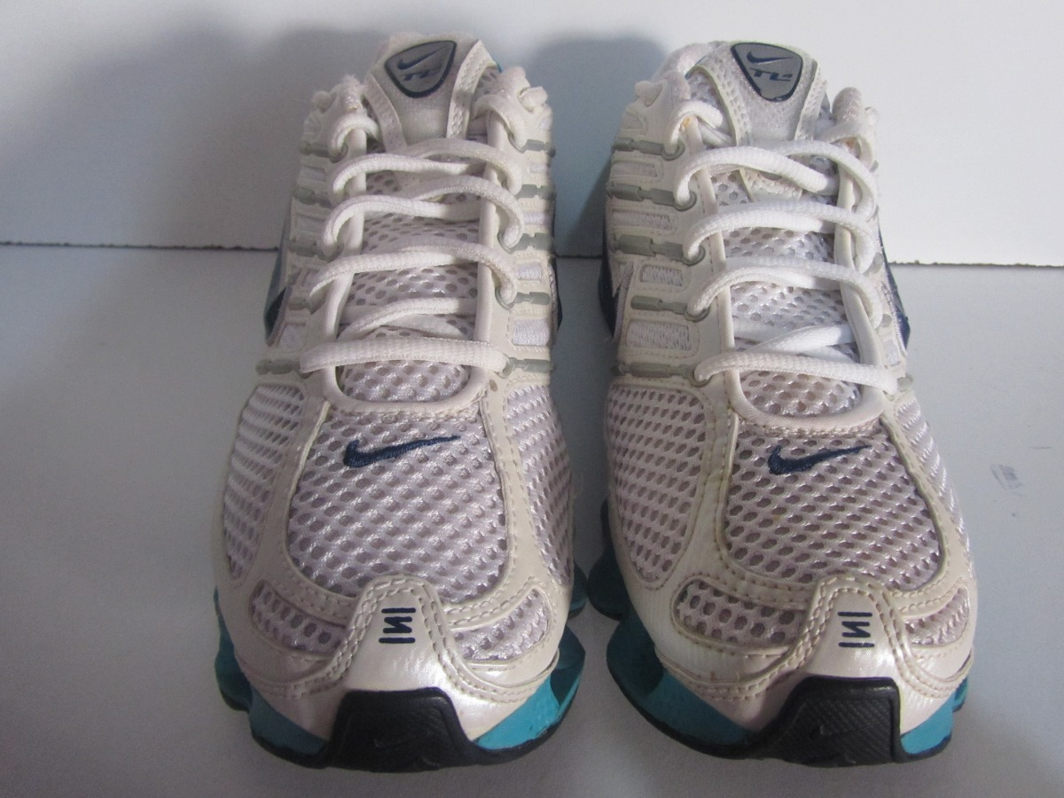various colors f5ee2 074d7 clearance tenis nike shox tl4 color blanco aqua talla 25cm n134. cargando  zoom. 617c8