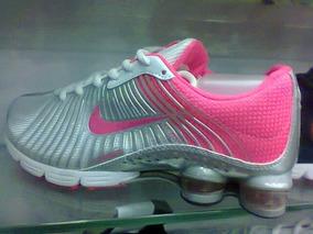 huge discount b59ec ddda7 Tenis Nike Shox Zoom Prata E Rosa Nº34 Ao 39 Original!