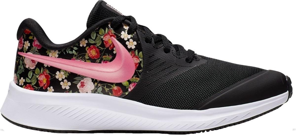 Tenis Nike Star Runner 2 Bv1723 001 Blackflora Running Mujer