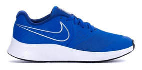 Tenis Nike Star Runner 2 Gs Originales Color Azul