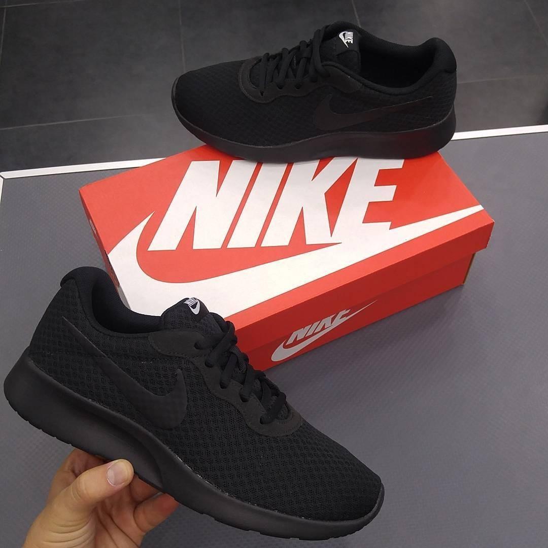 baa444cd9f Tenis Nike Tanjun Mujer Negros - $ 1,450.00 en Mercado Libre