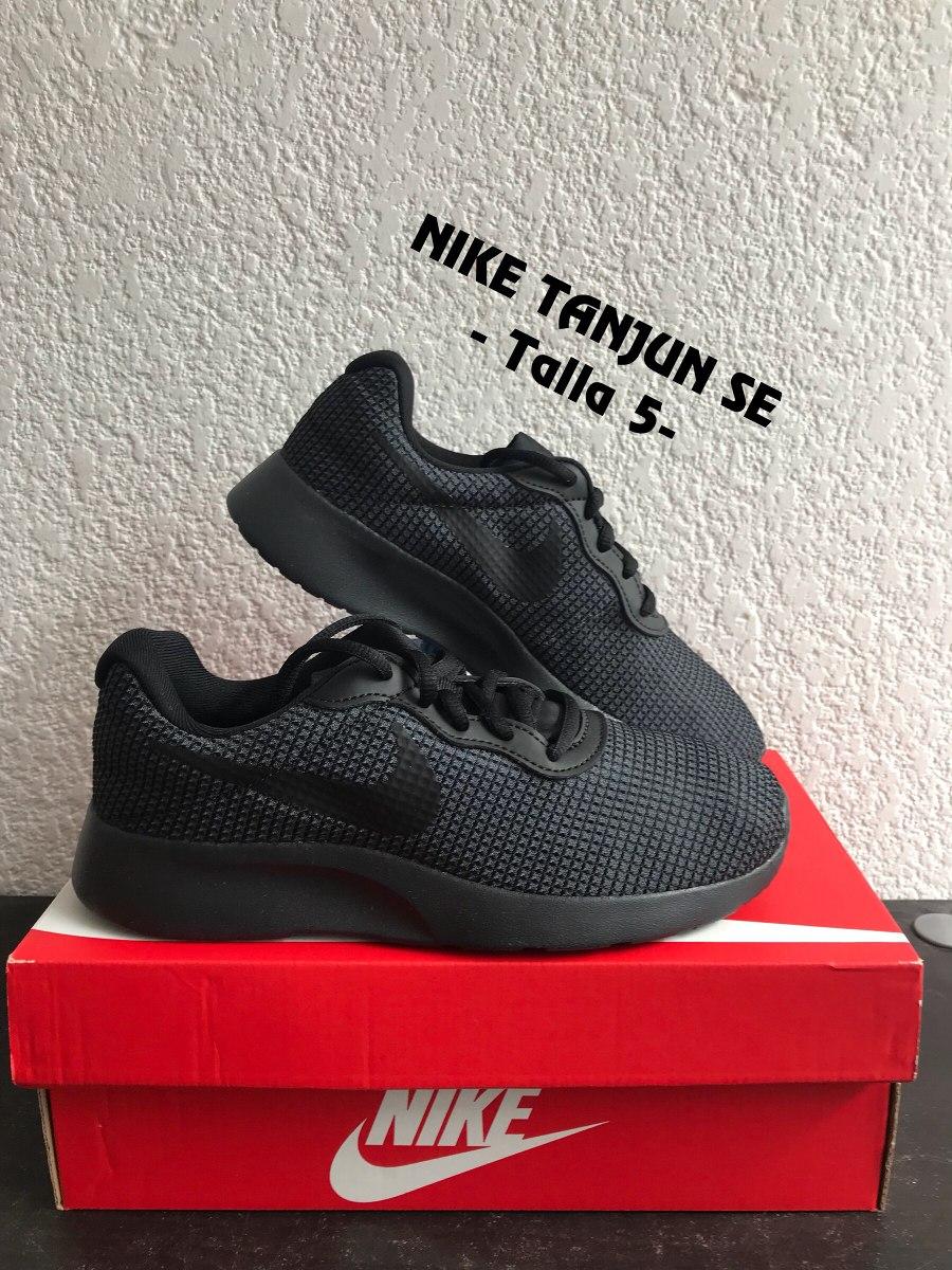 best sneakers 8bc81 a4d49 tenis nike tanjun se negro. 5. originales. Cargando zoom.