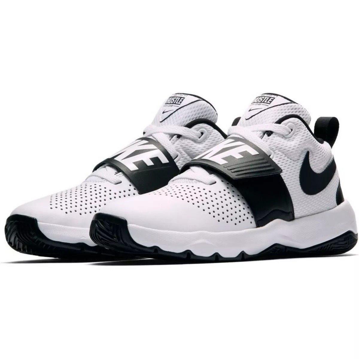 Tenis Nike Team Hustle D8 Infantil Blanco Envío Gratis
