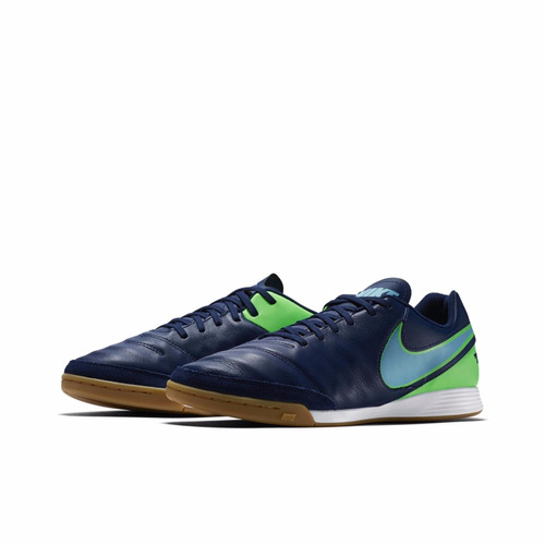 tenis nike tiempo genio ii 2 leather ic futsal original + nf