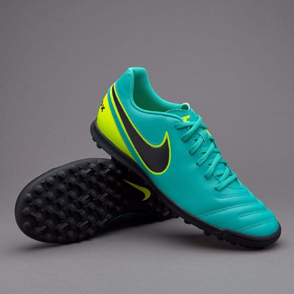 Zapatilla Nike TiempoX Proximo Turf White Electro green