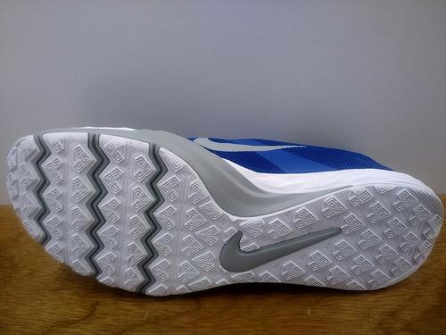 tenis nike train prime iron df azul / gris caballero