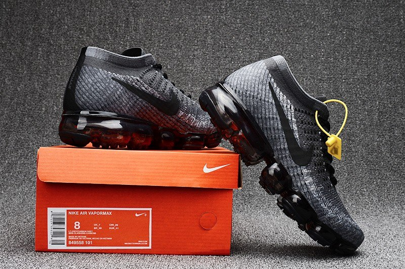 tenis nike vapormax 2018 gris negro 2 en mercado libre. Black Bedroom Furniture Sets. Home Design Ideas