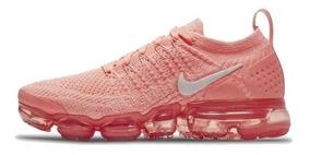 información para e6358 aefa9 Tenis Nike Vapormax Flyknit 2 Mujer Coral/rosa Envio Gratis