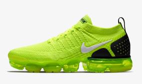 Para estrenar db90c 4cdd6 Tenis Nike Vapormax Flyknit 2 Volt Envio Gratis Con Caja