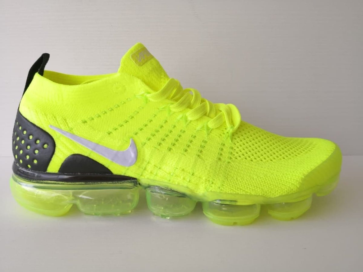brand new fc6d7 6dcb3 Tenis Nike Vapormax Flyknit 2 Volt Envio Gratis Con Caja