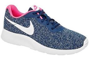 Tenis Nike W Tanjun Se Marino Tallas #22 Al #26 Mujer Ppk