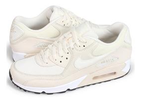 Tenis Nike Wmns Air Max 90 Beige Talla #23½ Mujer Psd