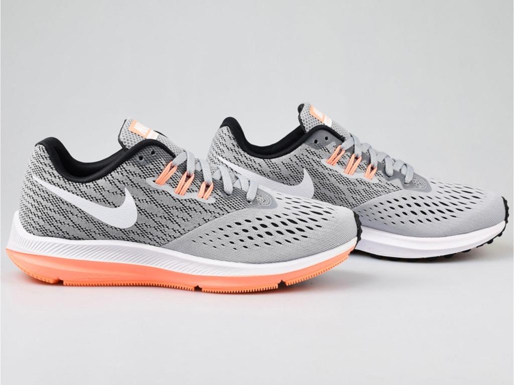 Tenis Nike Wmns Zoom Winflo 4 898485 003 Original Env Gra