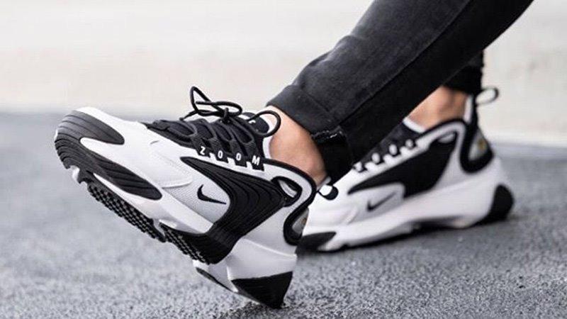 Tenis Nike Zoom 2k Blanco C/negro # 28 Cm. Msi