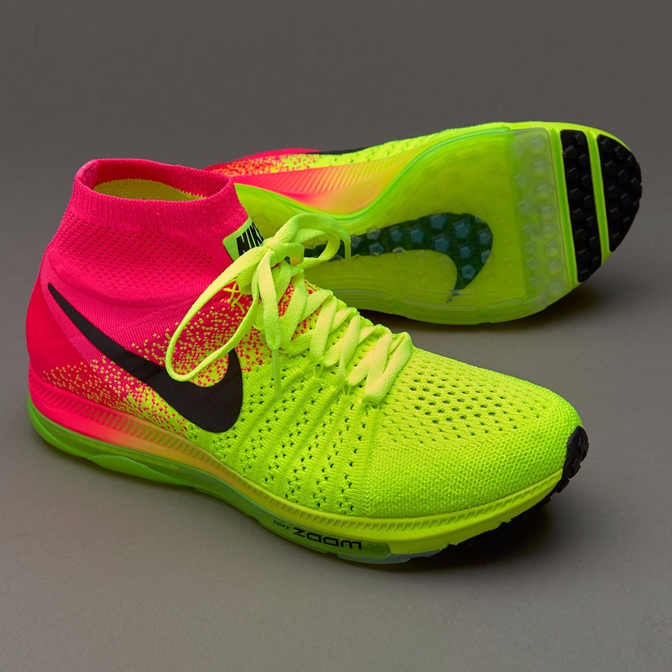 836ce5cefa692 ... new zealand flyknit hombres corriendo zapatos nike zoom todas out verde  amarillo nike zoom todas out